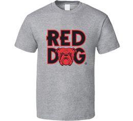 fanáticos de los perros Rebajas Perro rojo Cerveza Camiseta Hombre Camiseta Fan Regalo Nuevo de EE. UU. Nueva camiseta Primavera Verano Manga corta Camisetas estilo chino