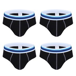 Wholesale mens classic briefs - NXY Mens 4 Pack Comfortable Mens Underwear Soft Seamless High Quality Underpants Cotton Classic Soft Briefs