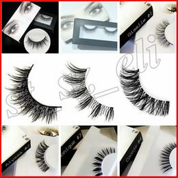 Wholesale Hand Made Boxes - New 20 style New Upscale box False Eyelashes handmade Fake Lashes Voluminous Fake Eyelashes For Eye Lashes Makeup