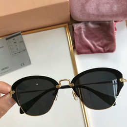 60e3e6e5ab 2019 Luxury Sunglasses Relfective Lens Light Half Frame Design Glasses UV  Protection Unisex Fashion Eyeglasses Brand Desginer Eyewear High Q
