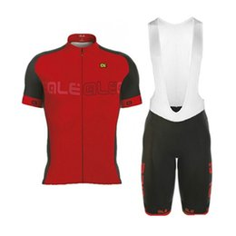 Wholesale Bicycle Jersey Design - New Cycling Design Pro 100% Polyester Cycling Jerseys ALE Ropa Ciclismo Comfortable Bicycle Clothing Bike Clothes