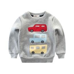 9f33cc12b2 carros de desenhos animados do menino s Desconto 1-8 anos de roupas  infantis outono