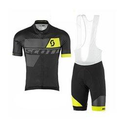 Недорого china джерси s онлайн-Скотт лето велосипед одежда мужчины Тур де Франс лето велоспорт Джерси комплект дорожный велосипед спортивная одежда фарфора дешевая одежда 92825Y
