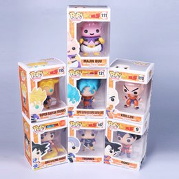 Wholesale Action Hands - Dragon Ball Funko Pop PVC Blue Goku Anime Model Action Figure Somewhat Demons Buou Klint Lanx Hands