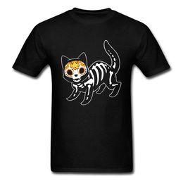 Camiseta para hombre imprimiendo nuevos diseños online-Sugar Cat Printing Men Camiseta 2018 New Novedad Funny T Shirts Plus Size Men Summer Short Shirt O-Neck Designs Camiseta para hombre