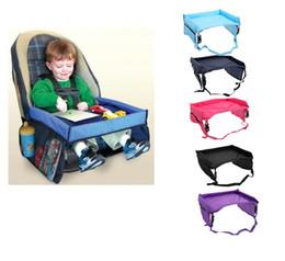 New Baby Kids Safety Snack Impermeabile Seggiolino Auto Da Gioco Play Tray Tavolo da disegno 5 Dimensioni da