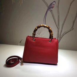 Wholesale italian tote bags - High Quality Mini 20CM Bamboo Exquisite Bag My Good Life Series Italian Full-grain Pattern Leather Handbag Designer Crossbody Bag
