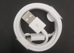 led câble smiley Promotion Câble de chargement rapide micro-USB Câbles de données de type-C V8 2M 6FT 1M 3FT pour Samsung s10 note4 s9 plus S4