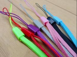 Cadenas de colores online-2018 colorido Lanyard monedero cordón exquisito cuerda pago Línea pequeña