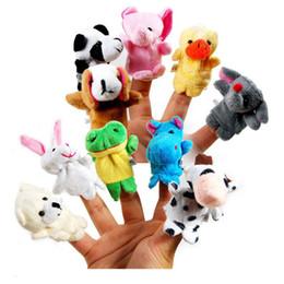 OKL1161 Bébé Enfants Peluche Tissu Jeu Jouer Apprendre Histoire Famille Doigt Marionnettes Jouets Drôle ? partir de fabricateur