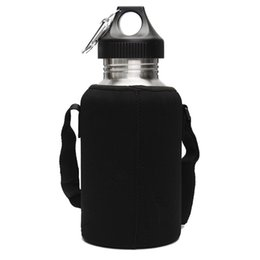 Nuovo 2L grande volume in acciaio inox acqua bere bole con supporto portabici in bicicletta campeggio sport palestra Bole Kele cheap bag for cycling gym da borsa per palestra di ciclismo fornitori