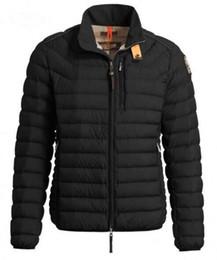 Wholesale Windbreaker Button Down - Free Shipping Man Lightweight Down Jacket Spring Autumn Windbreaker Winter Jackets Men Bomber Streetwear Jackets Men
