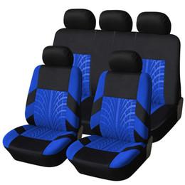 Гоночный автомобиль чехлы на сиденья шины трек универсальный Fit передние задние сиденья крышка аксессуары для интерьера синий красный серый новый для kia ВАЗ от