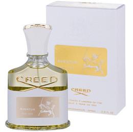 Buenos hombres perfumes online-Nuevo Creed aventus perfume para hombres Mujeres 120 ml 75 ml 100 ml con tiempo de larga duración buena calidad fragancia alta fragancia perfume Envío gratis