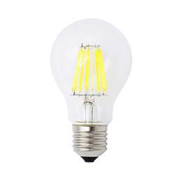 Эдисон люстры онлайн-E27 220 В - 240 В Эдисон Стеклянная лампа накаливания 4W 8W 12W 16W Светодиодная лампа Люстра Равные лампы накаливания Освещение Холодный / теплый белый