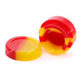 Canada Le récipient rond de la silicone 5ML met en boîte des récipients de cire de Dabs de cire d'herbe sèche de FDA pour des récipients d'huile de cire de concentré Offre