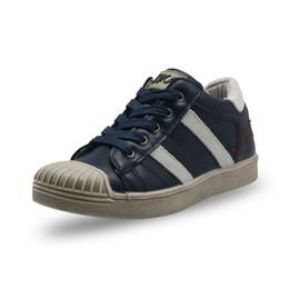 Moda para niños Shell Head Zapatos casuales Zapatillas deportivas con cremallera para niños pequeños desde fabricantes
