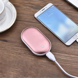 Wholesale Macaron Gift - 2018 creative Macaron rechargeable treasure phone usb mini warm hand treasure multi-functional polymer mobile power gift