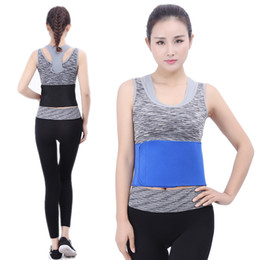 Wholesale disc pads - 2 styles Health Care Lumbar Disc Herniation Shaping Protection Belt Spontaneous Fitness Waist Pad Support FBA Drop Shipping G903Q
