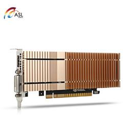 Tarjetas gráficas de 64 bits online-ASL G1302 Tarjeta gráfica 2GB 64bit GDDR5 HDMI / DVI 384 CUDR Core 6008MHz 4090 x 2160