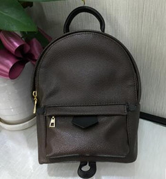 Wholesale Original Satchels - Original quality FRANCE luxury brand L PALM SPRINGS BACKPACK MM PM M43116 M41561 M41560 travel bag WOMENS book school bag