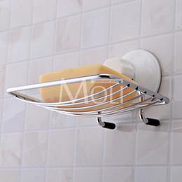 2019 piatto di sapone montato Portasapone a parete in acciaio inox Sapone Cestello Portasapone Doccia Accessori per il bagno piatto di sapone montato economici