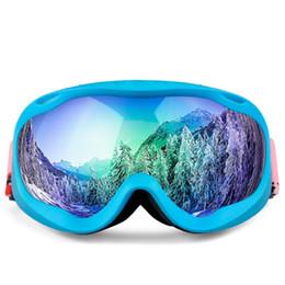 губка удобные очки ПУ Горный Сноуборд делает лобовое стекло лыжи двухслойные унисекс очки мягкие его носить cheap ski making от Поставщики лыжный спорт