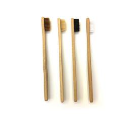 Canada Kit de voyage pour brosse à dents en bambou pour dents, dents et dents cheap adult teeth cleaning kit Offre