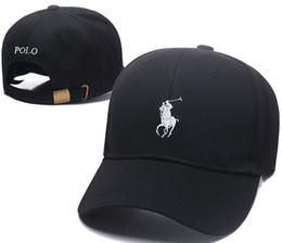 Polo recién llegado online-La más nueva llegada Barato ocio al aire libre de dibujos animados oso el nuevo polo gorra de béisbol negro hockey moda retro hueso Snapback casquette gorra papá sombrero