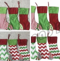 Le più recenti decorazioni di natale online-La più recente festa calze natalizie borsa regalo 6 stili ricamati grandi sacchi natalizi sacchetti natalizi Decorazioni I473