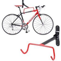 2019 fahrradbefestigung Basecamp 280x230x200mm Bike Cycle Lagerung Rack Mount Kleiderbügel Haken Garage Wall Fahrradparkage Haken Halter Racks Red rabatt fahrradbefestigung