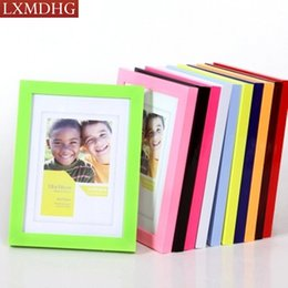 Wholesale Picture Crafts - Plastic Photo Frame For Photo Picture Frames Home Decor Creative Vintage Style Frames Nature Crafts Free Shipping 2017