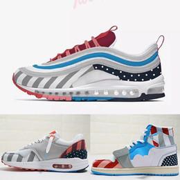 sports shoes 18c03 e52ea 2019 rosa caldo HOT scarpe di design di alta qualità Parra x 1 in pelle  scamosciata