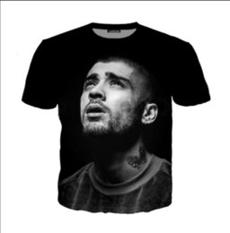 Música divertida camiseta online-Summer Newest Fashion Womens / Mens Music Star Zayn Ria Atardecer hasta el amanecer Funny 3D creativo Casual Hip Hop camiseta DS0159