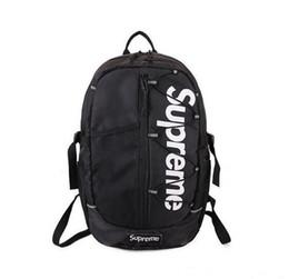 Heißer explosiver SUPER Alphabet-Art- und Weiserucksack-Unisexbeiläufige Handtaschen Schulter-Beutel-beiläufige Reise-Tasche geben das Einkaufen frei von Fabrikanten