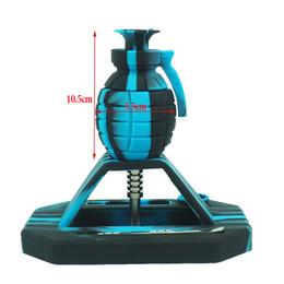 tabakrohrentwürfe Rabatt Neues Design Grenade Tabak Wasserpfeife Nectar Collector Kits mit 14mm Titanium Tip Mehrfarbiger Nektar Collector Nector Collector