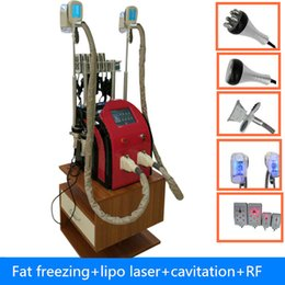 Wholesale Lipolaser Ce - fat freezing cavitation diode lipolaser cellulite removal rf fat burning weight loss machiine for salon use