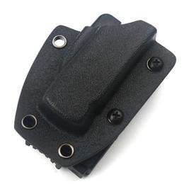 el protector de cuchillos kydex se aplica a la cuchilla automática MICRO EDC Scabbard Belt Clip Abrazadera de la cintura Campamento al aire libre Herramientas de seguridad portátiles Envío gratis desde fabricantes