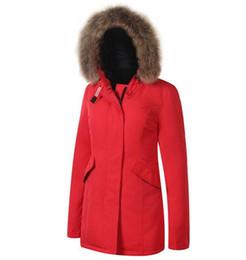 Canada Fashion new Woolrich Femmes Arctique Anorak Down doudoune Femme duvet d'oie d'hiver 90% d'extérieur Parkas épais manteau Des vestes de vêtements chauds pour femmes Offre