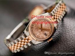 Bracelets en diamant saphir en Ligne-Montres-bracelets pour femmes élégantes 179171 279161 26mm cadran diamant rose Sapphire Automatic Mechanical Stainless Steel Ladies Watches