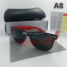 Wholesale Box Case Aa - High quality Brand Designer Fashion Women Sunglasses UV Protection Outdoor Sport Vintage Men Sunglasses Retro Eyewear With box and cases.-AA