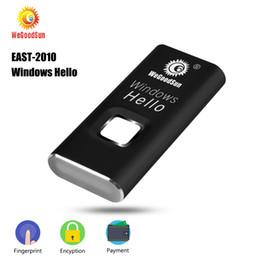 EAST-2010 Windows Hello Smart Fingerprint Reader USB Laptop Lock Biometrico Login File Encrption Pagamento per Windows 10 Laptop da