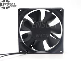 Wholesale Copper Motors - SXDOOL Brushless ec aial fan motor ec fans 80*80*25mm 80mm 8cm AC Dual Voltage 115V 230V 50 60Hz 6W 3000RPM 36.5CFM customized