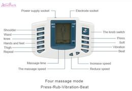 Argentina Cuidado de la salud decenas de acupuntura eléctrica de cuerpo completo masajeador Máquina de terapia de masaje digital para el cuello trasero pie Amy pierna alivio del dolor Suministro