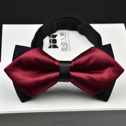 Wholesale Men S Grooming Set - 2017 Special Offer Bow Tie Men 's Double - Legged Bowknot Korean Version Of The Wedding Groom Fashion Quality Spot Wholesale