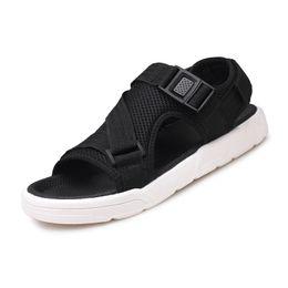Wholesale Korean Fashion Men Casual Shoe - Men's fashion Korean casual sandals 2018 summer new comfortable breathable sandals student dual-use shoes