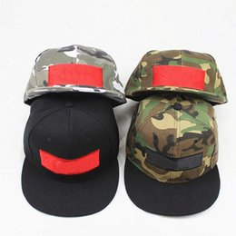 skate hats Promo Codes - Tide brand su camouflage designer hats for men hip  hip embroidery dd66cd88ecc