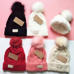 2019 gorro de malha para mulher Inverno austrália gorros ug chapéus engrossar gorros de malha tampas casuais quentes para homens e mulheres de boa qualidade gorro de malha para mulher barato