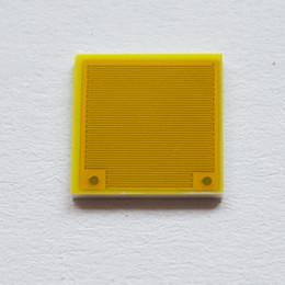 Sensores de capacitancia online-Electrodo interdigital Medidor interdigitado Capacitancia Sensor de humedad Electrodo de oro 7mm * 7mm