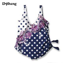 Wholesale Big Blue Swimming - Backless One Piece Swimwear Women Bodysuit Plus Size Big Bra Swim suit New High waist Swimsuit Beach maillot de bain